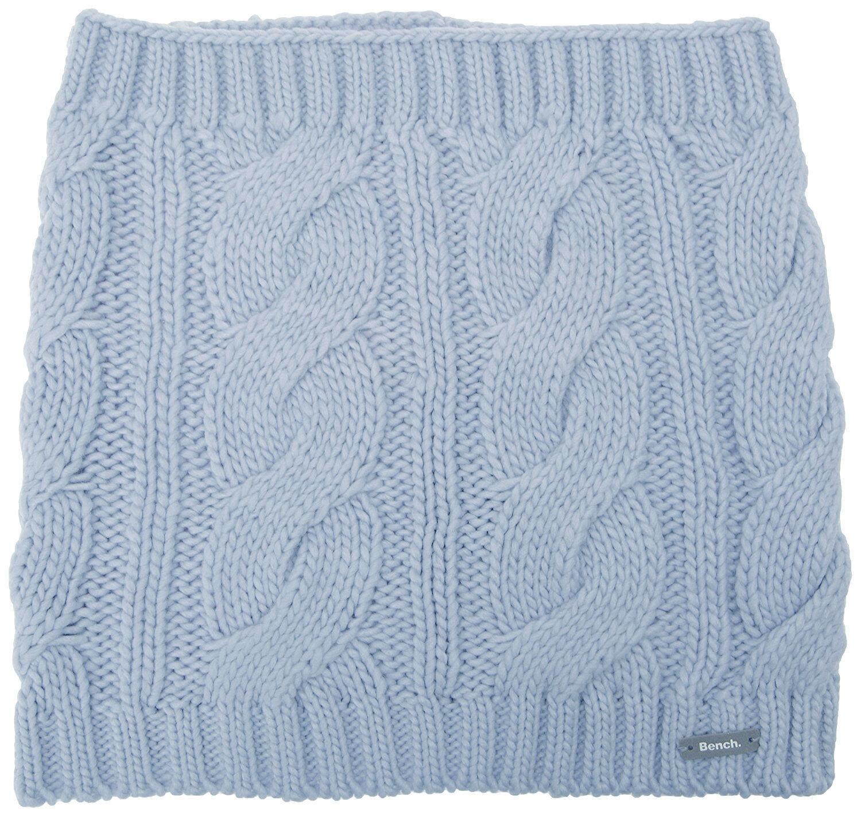 Bench Light Blue Levigny B Cable Knit Snood Neck Gaiter Scarf Wrap BLVA0320B NWT