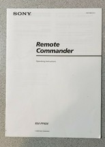 Sony Remote Commander RM-PP404 Operating Instructions Manual: 4-227-692-... - $18.95