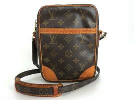 Authentic LOUIS VUITTON Monogram Canvas Leather Danube Cross Body Bag - €269,02 EUR