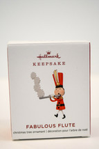 Hallmark  Fabulous Flute  Miniature  Limited Edition  Keepsake Ornament 2019 - $18.60