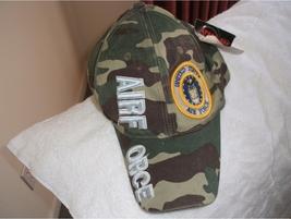 US Air Force Camo ball cap w/tags  - $18.00