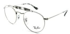 Ray-Ban Rx Eyeglasses Frames RB 3747V 2501 47-21-140 Grey Havana / Silver - $85.36