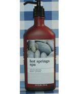 Bath & Body Works 'HOT SPRINGS SPA' Aromatherapy Body Lotion 6.5 oz./192ml - $16.78