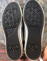 Cons Converse Men Sz 10 Women Sz 12 High Top Shoes Black Gray Yellow Tennis Shoe image 7