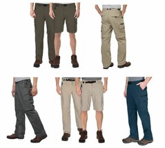 BC Clothing Men's Convertible Stretch Cargo Hiking Pants Shorts,Zippered... - $22.99+