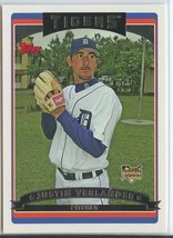 JUSTIN VERLANDER RC 2006 Topps #641 Tigers Baseball Trading Sports Cards... - $13.99