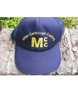 VTG Baseball Cap Hat trucker hat Miller Centritugal Casting MCC M c c  Mesh - $29.65