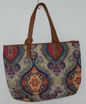 Howards Product Number 68985 Large Shoulder Bag Multi Color Paisley Print image 2