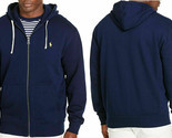 Polo Ralph Lauren Men's Big & Tall Cotton-Blend-Fleece Hoodie Cruise Navy 2XLT