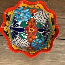 Talavera Pottery Salad Bowl Grande  - Serving Dish Lg.- Salsa - Ceramic ... - £28.94 GBP