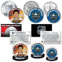 2018 WASHINGTON CAPITALS Ovechkin Rookie Stanley Cup Champions NHL 3-Coi... - $19.75