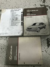 1990 Lexus LS400 LS 400 Service Shop Repair Workshop Manual OEM Set Worn - $89.05