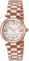 Marc Jacobs Women's MJ3520 Dotty Crystal Rose-Tone Stainless Steel Watch - $188.00