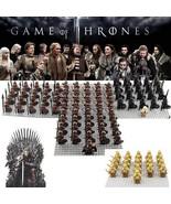 21pcs/set Game of Thrones House Stark The Unsullied Army Kingsguard Mini... - $29.95+