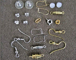 <500Pc.GOOD US QUALITY>WHOLESALE-Assorted-FINDINGS JEWELRY Repair KITS~US  - $10.63