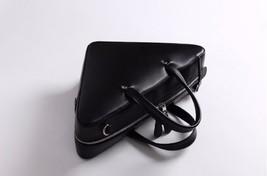 Women Shoulder Black Triangular Bag Genuine Leather BALENCIAGA Triangle ... - $115.99