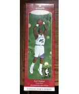 Hallmark Keepsake Ornament NBA Karl Malone Hoop Stars Collector Series C... - $11.39