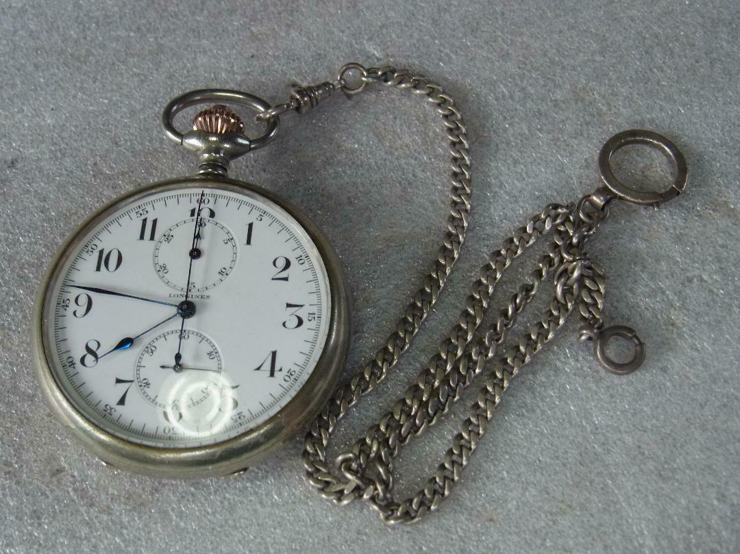 Longines KARAF antique pocket watch hand-winding Cal19.73 - $1,146.41
