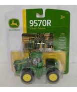 John Deere LP53356 Die Cast Metal Replica 9570R Tractor Triple Wheels - $16.99