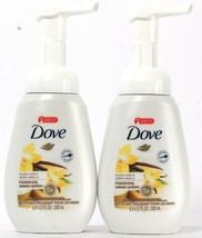2 Bottles Dove 6.8 Oz Sugar Cane & Warm Vanilla 5X Moisture Foaming Hand Wash - $16.99