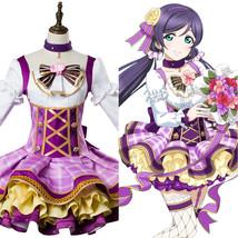 Love Live!Aqours Tojo Toujou Nozomi Flower Bouquet Ver.Dress Cosplay Costume Set - $139.00+
