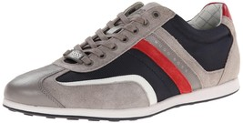 NEW HUGO BOSS MEN'S STIVEN SUEDE SPORT SNEAKER SHOES DARK BLUE 50247608-460 - $142.45