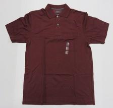 New With Tags ARROW Maroon Collared Short Sleeve Polo Shirt Adult Men's Size S - $29.65