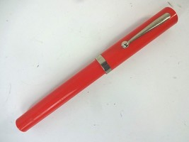 VTG Sheaffer No-Nonsense Rolling Ball Pen - Refillable - Red w/ Chrome Clip - $21.11