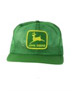 NOS Vtg 80s Louisville MFG Co John Deere Patch Trucker Hat Snapback USA ... - £278.17 GBP