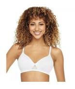 Hanes Women's Oh So Light Foam Wirefree Bra,Style MHG521 Size XL - $10.88