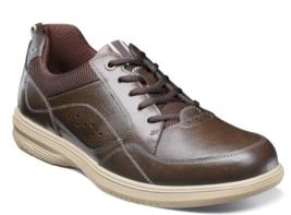 Nunn Bush Kore Walk Moc Toe Oxford Shoes Brown 84811-200 - $79.99