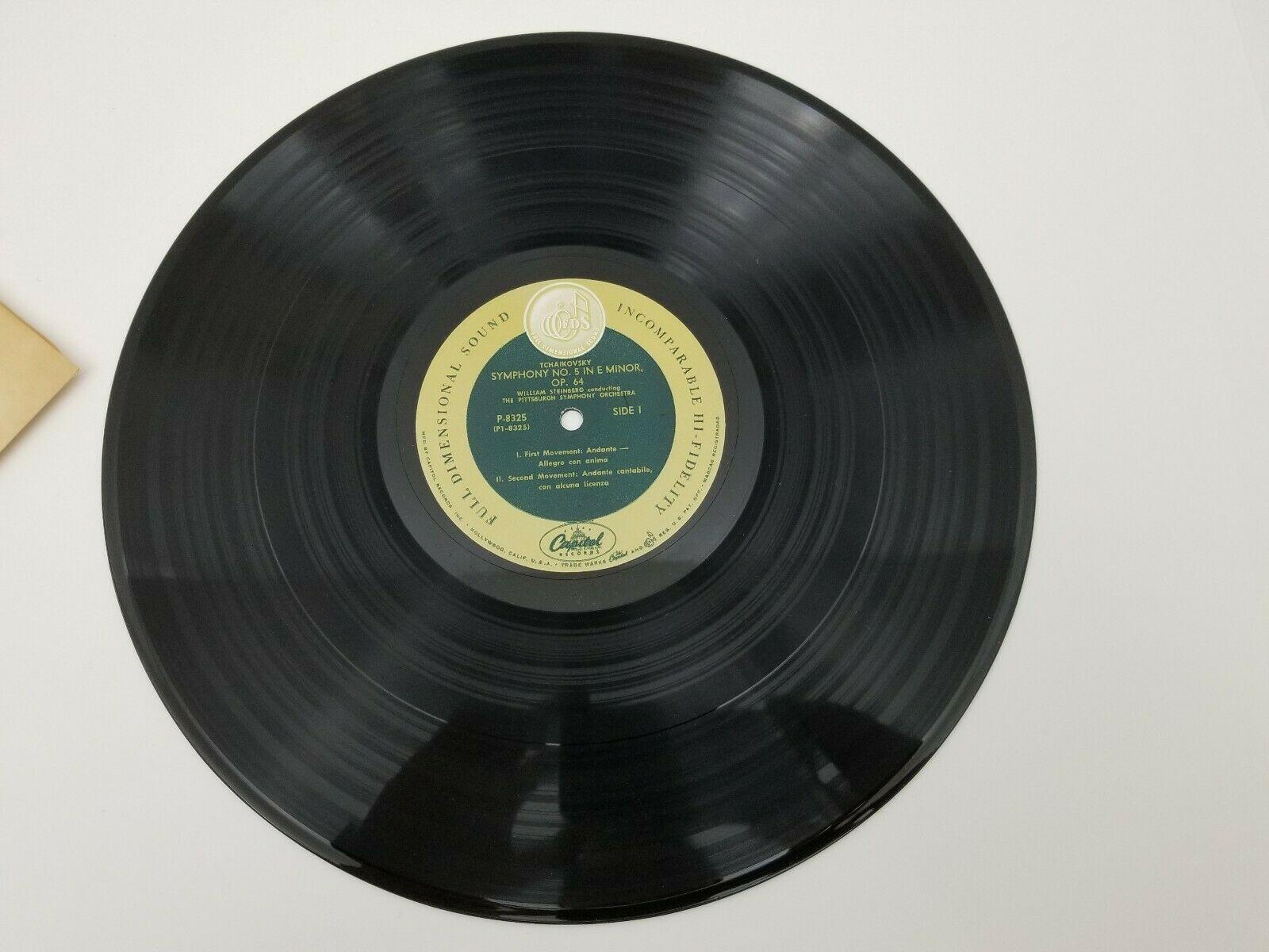 Tchaikovsky Symphony No. 5 Vinyl Record LP Pittsburgh Symphony Orchestra P8325
