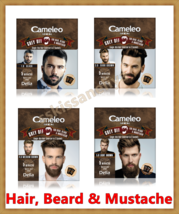 CAMELEO MEN Grey Off Hair Color, Beard and Mustache IN 2 SACHETS EFFECT ... - $6.89