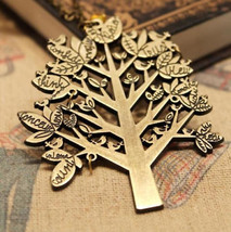 The Ideas Brass Tree Necklace >> Combined Shipping << (7114) - $6.68