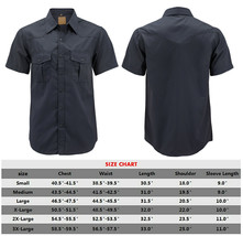 Men's Casual Western Pearl Snap Button Down Short Sleeve Cowboy Dress Shirt image 2