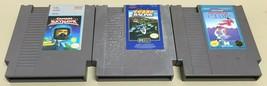 Captain Skyhawk, Al Unser Jr. Turbo Racing, Karate Champ 3 NES Game Lot ... - $15.00