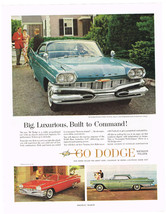 Vintage 1960 Magazine Ad Dodge Almost Unlimited Capacity For Performance - $5.93
