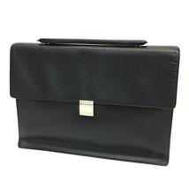AUTHENTIC LOUIS VUITTON Taiga Porte Document Angara Briefcase Bag M30772 - $736.61 CAD
