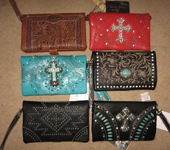 WESTERN MESSENGER BAGS 6 COLORS AND DESIGN 8x5 ... - $24.95