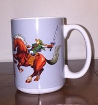 The Legend Of Zelda Ocarina Of Time Link Shield Mug Nintendo Coffee Mug Cup - $9.85