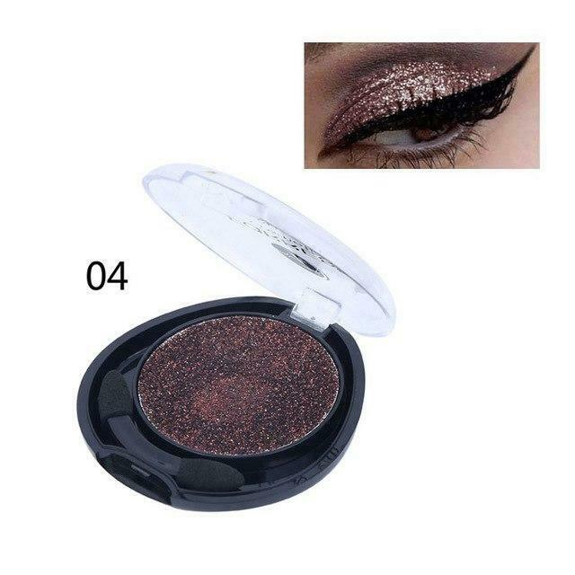 2018 Shimmer Shine Shadows Eye Palette New Makeup Waterproof Mineral Powder Blac