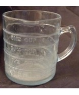 Vintage Fire King One Cup Liquid Measuring Cup - Philbe Sapphire Blue - ... - $34.64