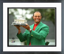 Tiger Woods With Trophy Winner of the 2019 Masters- 11x14 Matted/Framed Photo - $43.55