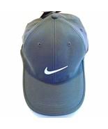 NEW! NIKE Golf Dri-Fit Adjustable Course Cap Pro Tour Hat-Carbon Heather Grey - $49.38
