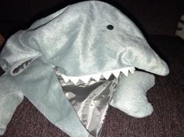 Halloween Gray Shark Pet Dog Costume Size Medium - $14.36