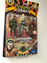 Lanard THE CORPS ELITE Triple Threat 3 Action Figurines - $30.00