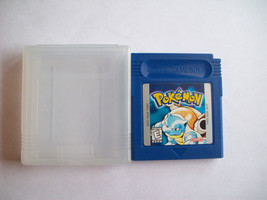Pokemon Blue Version Game AUTHENTIC - NEW SAVE BATTERY - GOOD CONDITION  - $32.99