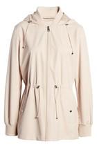 Bernardo Womens Lt Pink Wind Proof Water Resistant Breathable Raincoat Jacket XL image 1