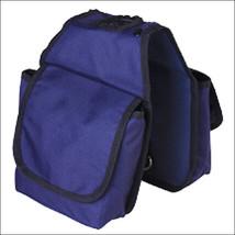 Hilason Western Tack Horse Pockets Horn Bag Navy Blue U-3743 - $16.82