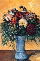 Bouquet of Flowers in a Vase by Paul Cezanne - Art Print - $19.99+